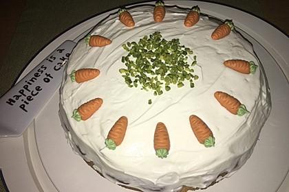 Karottenkuchen, Rüblikuchen oder Möhrenkuchen 205