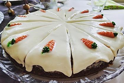 Karottenkuchen, Rüblikuchen oder Möhrenkuchen 209