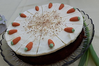 Karottenkuchen, Rüblikuchen oder Möhrenkuchen 126