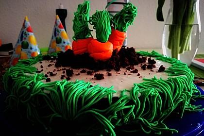 Karottenkuchen, Rüblikuchen oder Möhrenkuchen 187
