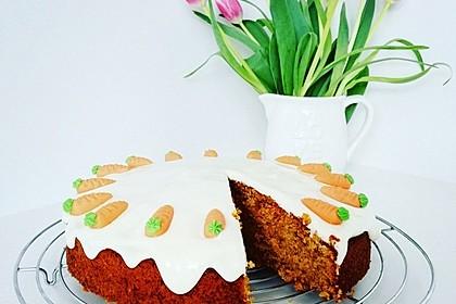 Karottenkuchen, Rüblikuchen oder Möhrenkuchen 19