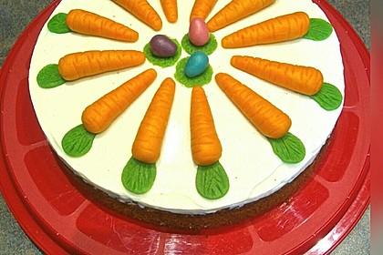 Karottenkuchen, Rüblikuchen oder Möhrenkuchen 2