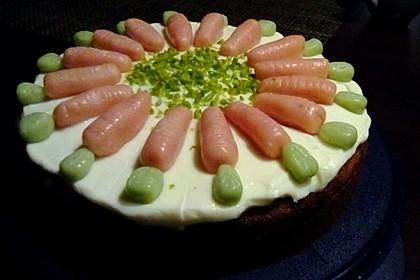 Karottenkuchen, Rüblikuchen oder Möhrenkuchen 191