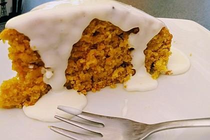 Karottenkuchen, Rüblikuchen oder Möhrenkuchen 107