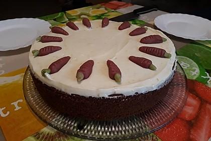 Karottenkuchen, Rüblikuchen oder Möhrenkuchen 245