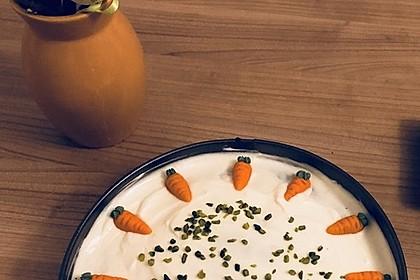 Karottenkuchen, Rüblikuchen oder Möhrenkuchen 253