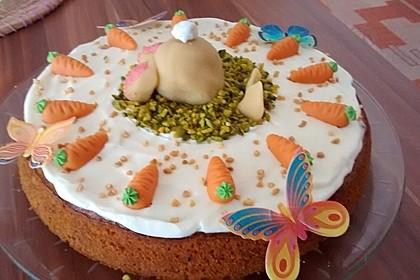 Karottenkuchen, Rüblikuchen oder Möhrenkuchen 4
