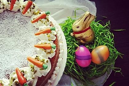 Karottenkuchen, Rüblikuchen oder Möhrenkuchen 42