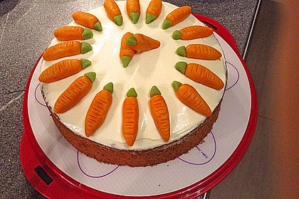 Karottenkuchen, Rüblikuchen oder Möhrenkuchen 45