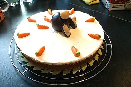 Karottenkuchen, Rüblikuchen oder Möhrenkuchen 16