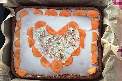 Karottenkuchen, Rüblikuchen oder Möhrenkuchen 272