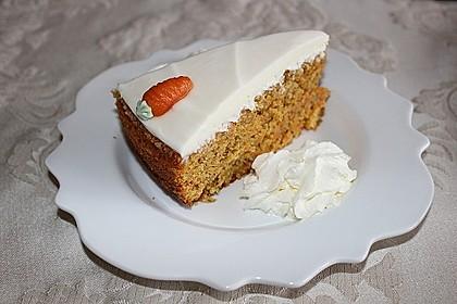 Karottenkuchen, Rüblikuchen oder Möhrenkuchen 50