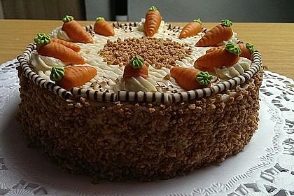 Karottenkuchen, Rüblikuchen oder Möhrenkuchen 18