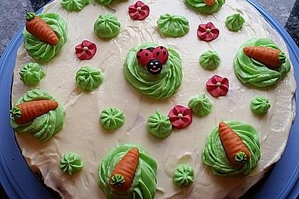 Karottenkuchen, Rüblikuchen oder Möhrenkuchen 44