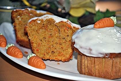Karottenkuchen, Rüblikuchen oder Möhrenkuchen 40