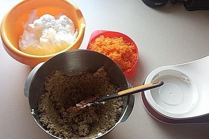 Karottenkuchen, Rüblikuchen oder Möhrenkuchen 296