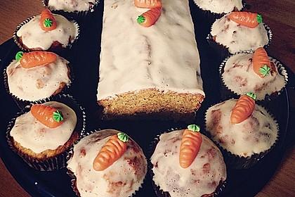 Karottenkuchen, Rüblikuchen oder Möhrenkuchen 106