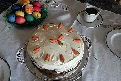 Karottenkuchen, Rüblikuchen oder Möhrenkuchen 177