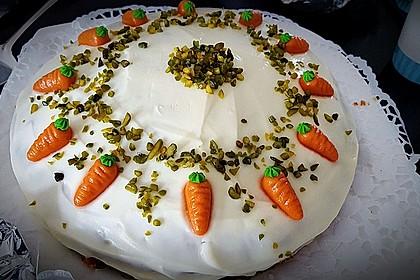 Karottenkuchen, Rüblikuchen oder Möhrenkuchen 286