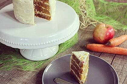 Karottenkuchen, Rüblikuchen oder Möhrenkuchen 25
