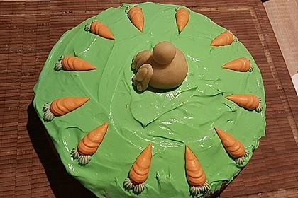 Karottenkuchen, Rüblikuchen oder Möhrenkuchen 243