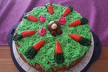 Karottenkuchen, Rüblikuchen oder Möhrenkuchen 122