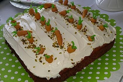 Karottenkuchen, Rüblikuchen oder Möhrenkuchen 269