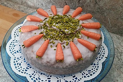 Karottenkuchen, Rüblikuchen oder Möhrenkuchen 88