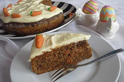 Karottenkuchen, Rüblikuchen oder Möhrenkuchen 75