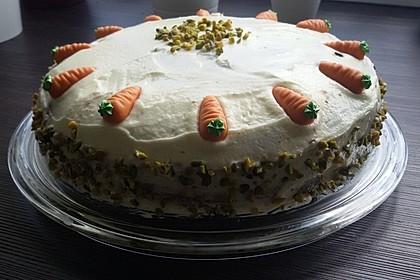 Karottenkuchen, Rüblikuchen oder Möhrenkuchen 279