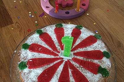 Karottenkuchen, Rüblikuchen oder Möhrenkuchen 214