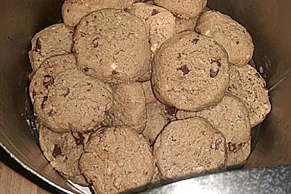 Erdnussbutter-Mandel-Kekse 2