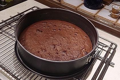 Schokoladen-Glühweinkuchen