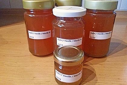 Apfel-Marillen-Vanille-Gelee