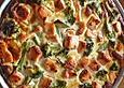 Gemüse-Bätterteig-Quiche mit Lachs