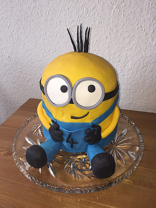 Minion kuchen teig