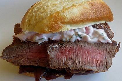 Steaksandwich mit Zwiebelmarmelade 1