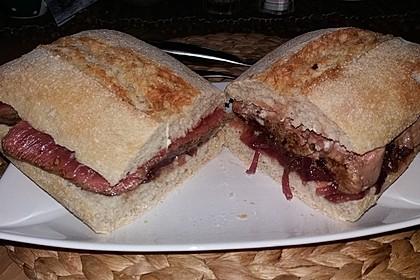 Steaksandwich mit Zwiebelmarmelade 2
