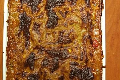 Grünkern-Gemüse-Lasagne