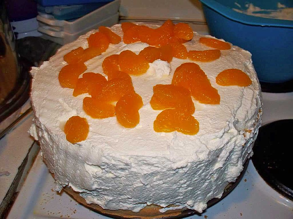 Mandarinen sahne kuchen kalorien