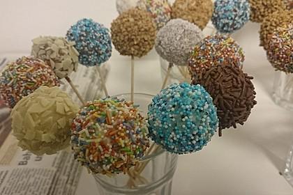 Schnelle Cake-Pops ohne Backen 13
