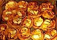 Bacon-Blätterteig-Schnecken