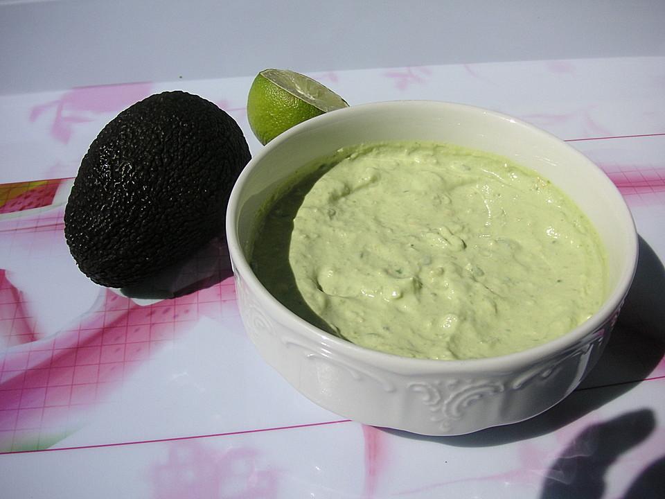 avocado limetten dip rezept mit bild von sarah175. Black Bedroom Furniture Sets. Home Design Ideas