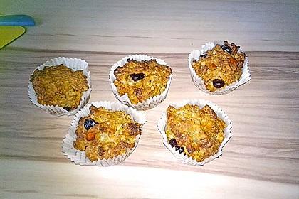 Weihnachtliche Stollen-Muffins-Backmischung im Geschenkglas 4