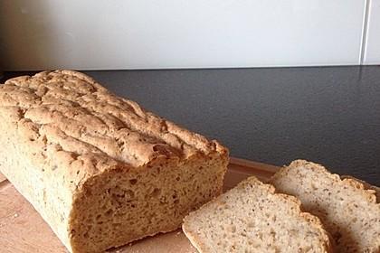 Glutenfreies Haselnuss-Brot 2