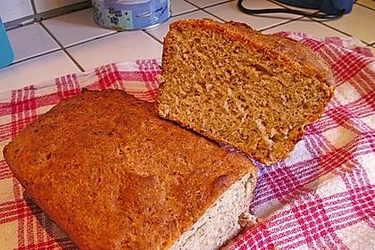 Glutenfreies Haselnuss-Brot 1