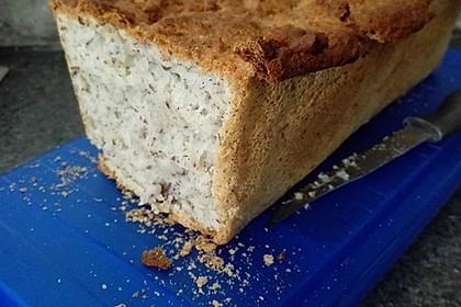 Glutenfreies Haselnuss-Brot 3