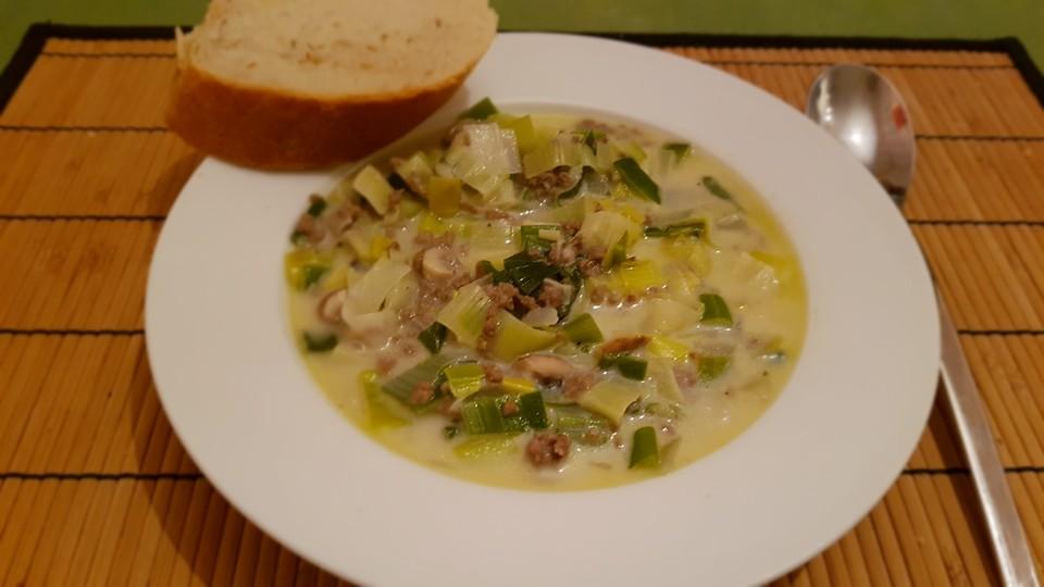 Käse-Lauch-Suppe von oreimers | Chefkoch.de