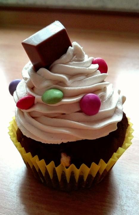 kinderschokoladen cupcakes rezept mit bild von lisa n. Black Bedroom Furniture Sets. Home Design Ideas