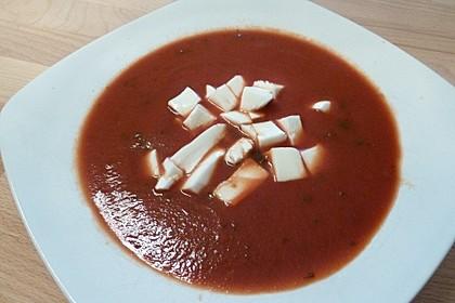 Tomaten-Mozzarella-Suppe 2